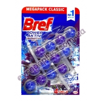 Туалетний блок Bref WC Power Active 3X50 gr Lavender 4 in 1