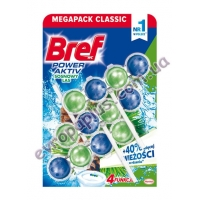 Туалетний блок Bref WC Power Active 3X50 gr Pine 4 in 1(сосновий ліс)