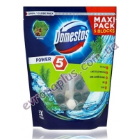 Туалетні блоки Domestos Power Maxi 5x55g сосна
