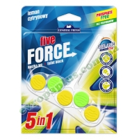 Туалетні кубики General Fresh Five-Force Lemon 50g