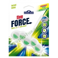 Туалетні кубики General Fresh Five-Force Forest 50g