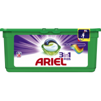 Капсулы для стирки Ariel Color 3 in 1 28шт